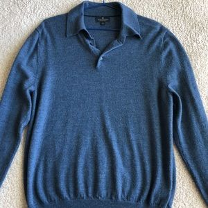 Brooks brothers collared sweater